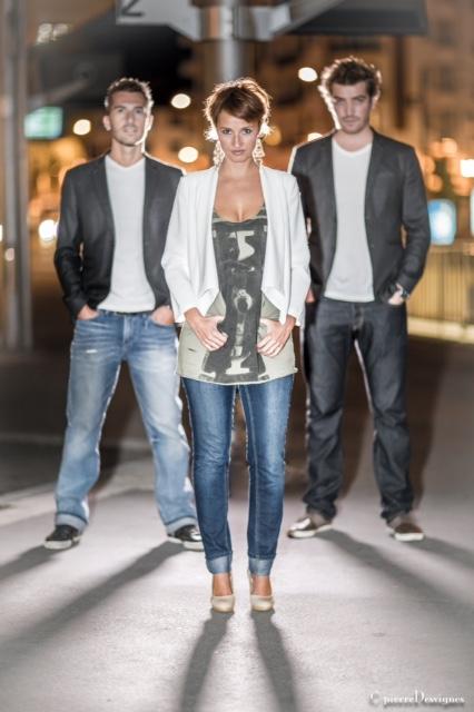MaFaMily Trio-Photo-Affiche